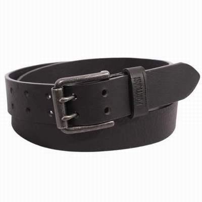 81826ab141a ... ceinture en cuir noir pour femme